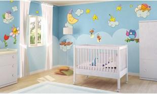Adesivi Per Mobili Bambini : Adesivi murali per bambini stickers per camerette leostickers